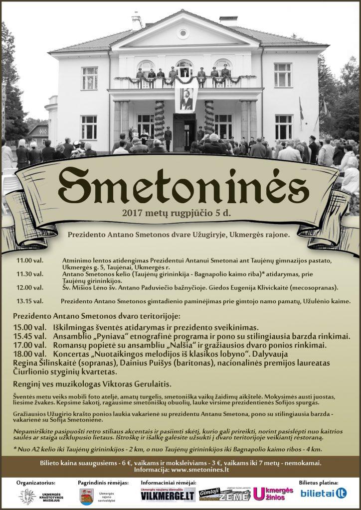 Smetonines 2017-plakatas